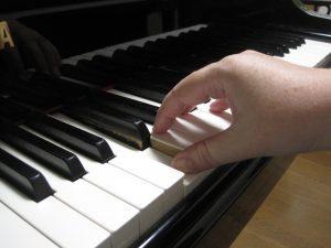 ピアノの1の指のいい角度