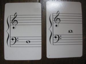 ポケモン音符カード1