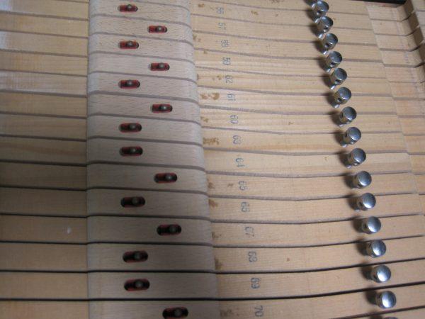 グランドピアノ鍵盤の番号