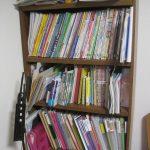 ピアノの部屋本棚