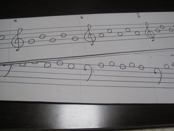 ソラシドレ音符カード