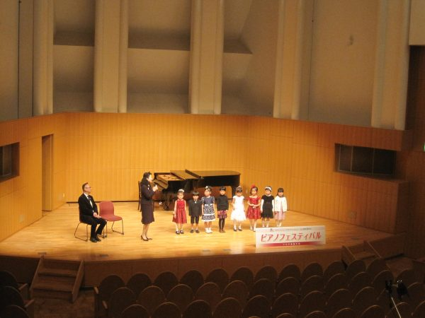 ピアノフェスティバルの審査員講評