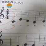ピアノの花マル