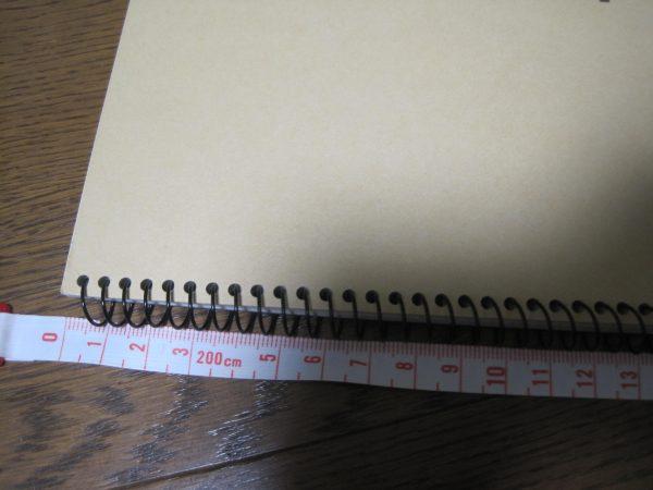 楽譜を貼るスケッチブック