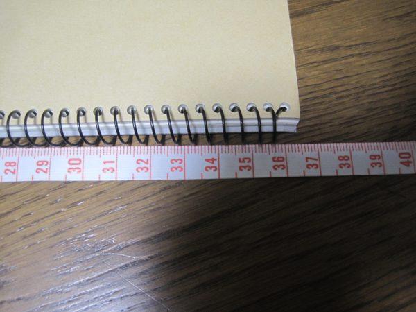 楽譜を貼る37センチスケッチブック