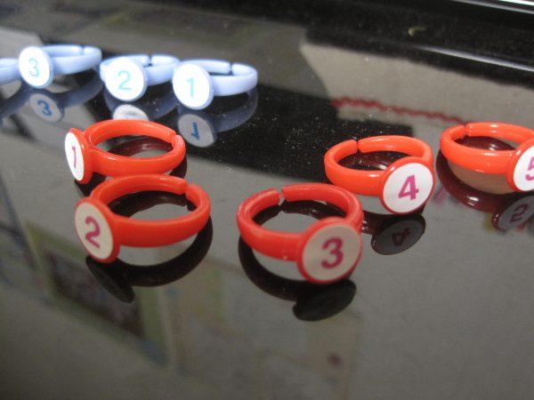 指番号の指輪