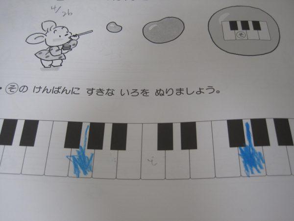 ピアノのための幼児のドリル