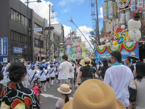 安城七夕祭りパレード