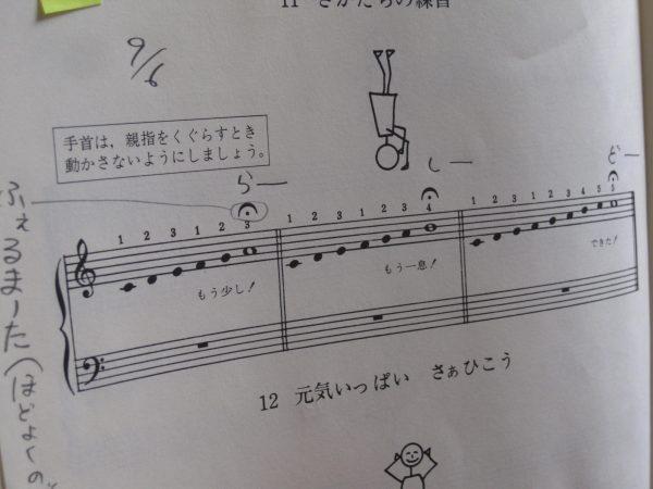 音階の練習バーナム