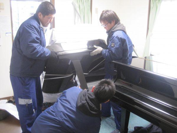 グランドピアノ2台部屋に入れる