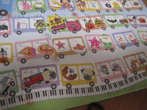 ピアノ教室出席カード24