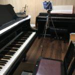ピアノ動画にタブレット三脚使ってみた